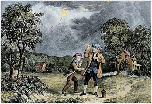 Benjamin-Franklin-Kite (reduced)
