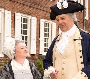 October 2017 Presentation: George and Martha Washington In Perfect Felicity
