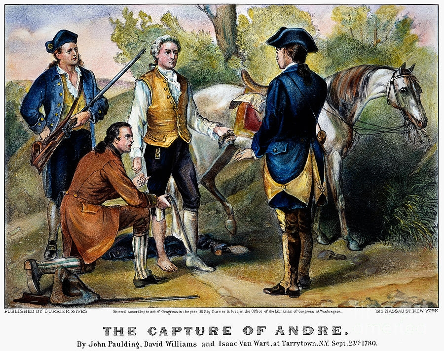 April 9 2019 - Special Presentation: THE LIFE OF JOHN ANDRE